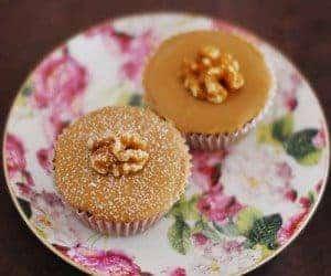 Banana Caramel Cupcake