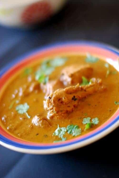 Spicy Chicken Korma