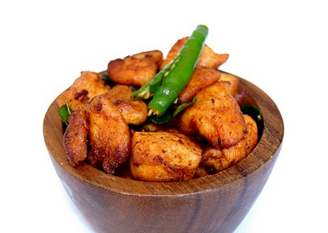 Easy Kerala Style Chicken Fry Recipe