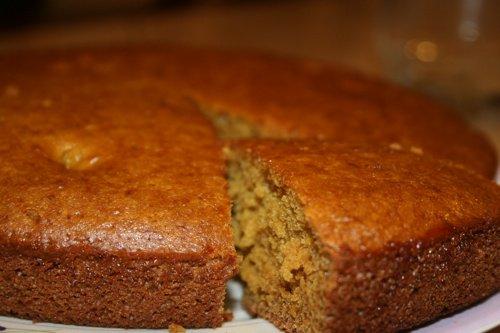 Eggless Cinnamon Cake