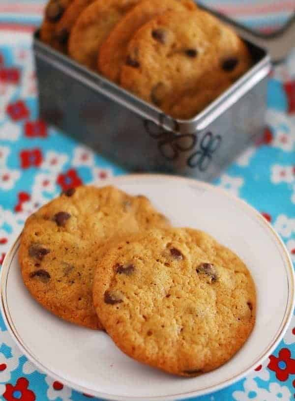 Eggless Chocolate Chip Cookies (Recipe With Step by Step Pictures)