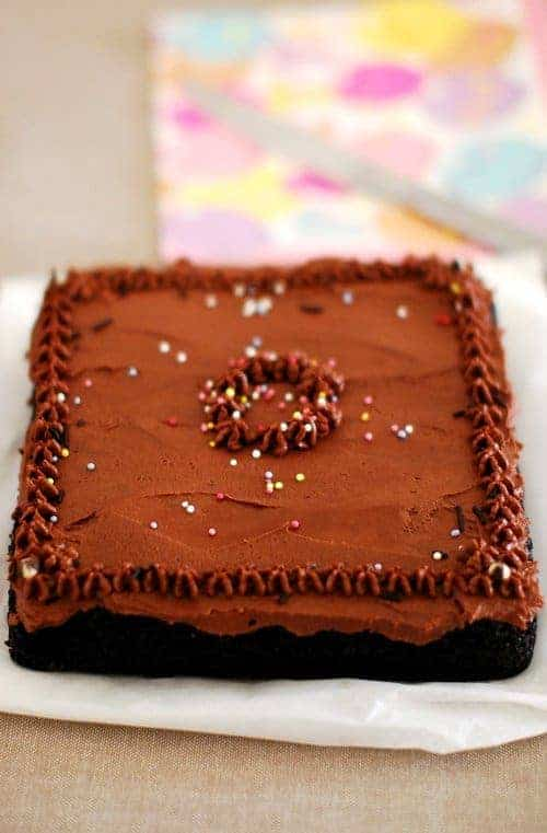 Eggless Chocolate Cake