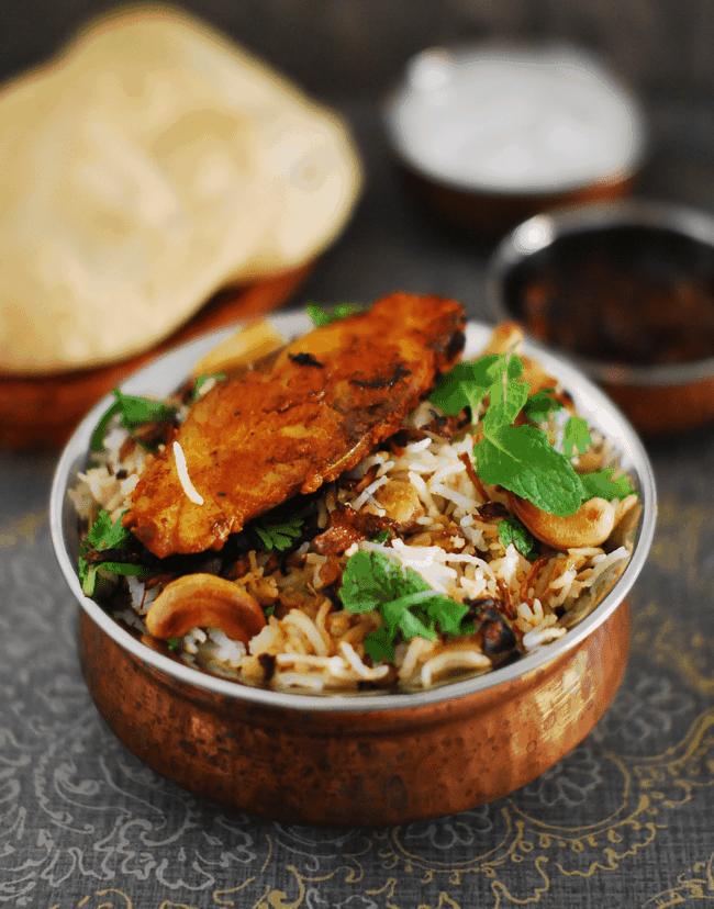 Kerala Style Malabar Fish Biriyani Recipe