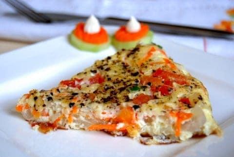 Vegetable Omelet / Omelette