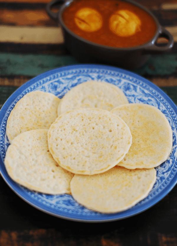 Kallappam / Vellayappam Recipe