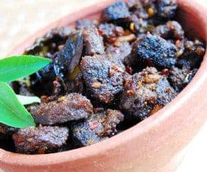 Kallu Shappu (Kerala Toddy Shop) Style Beef Fry