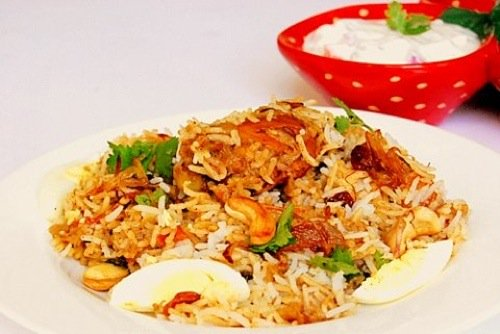 Kerala Chicken Biriyani Recipe