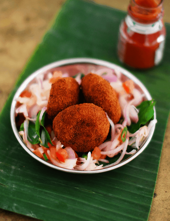 Kerala Fish Cutlet