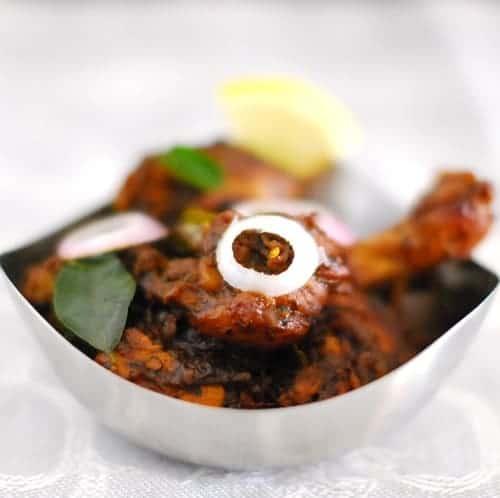 Kerala Style Pepper Chicken Recipe