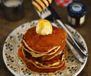 Lemon Yogurt Pancake