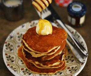 Lemon Yogurt Pancake