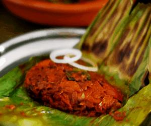 Meen pollichathu