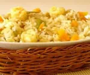 Indo Chinese Style Mixed Fried Rice Recipe
