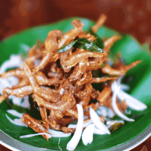 Netholi Fry (Spicy Fried Anchovy)