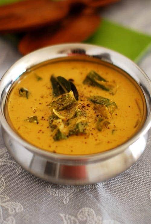 Okra (Vendakka) Curry