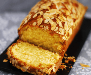 Orange Almond And Yoghurt Loaf Cake