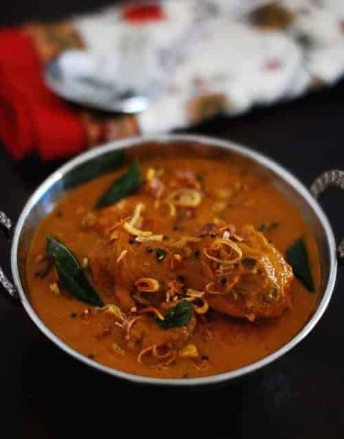 Restaurant Style Chicken Curry