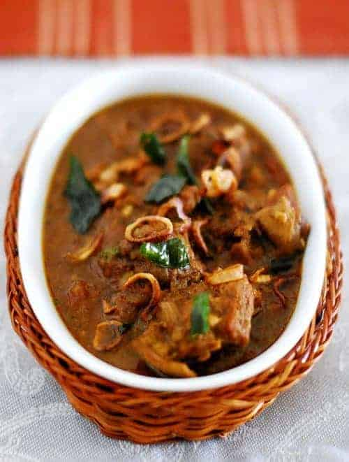 Spicy Mutton Curry - Kerala Style