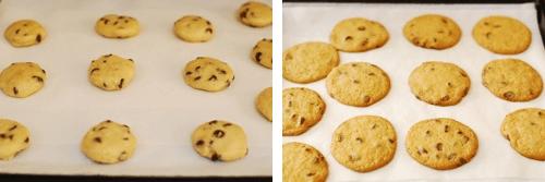 No Egg Chocolate Chip Cookies - Pumpkin Chocolate Chip Cookies