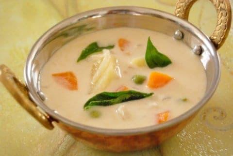 Kerala Style Vegetable Stew Recipe